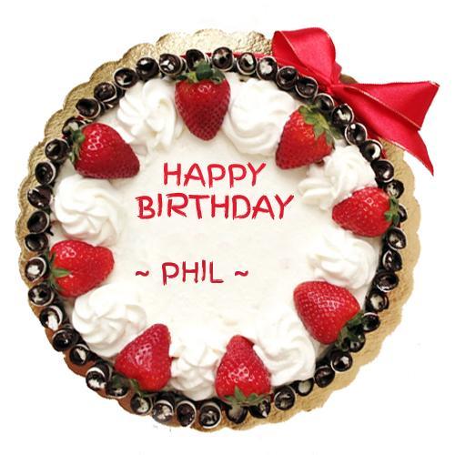 Write Name on Strawberry Birthday Cake Online