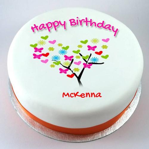 Happy Birthday Mckenna Cake