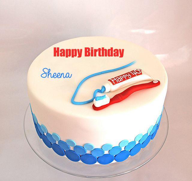 Write Name On Happy Birthday Dentist Doctor Cake