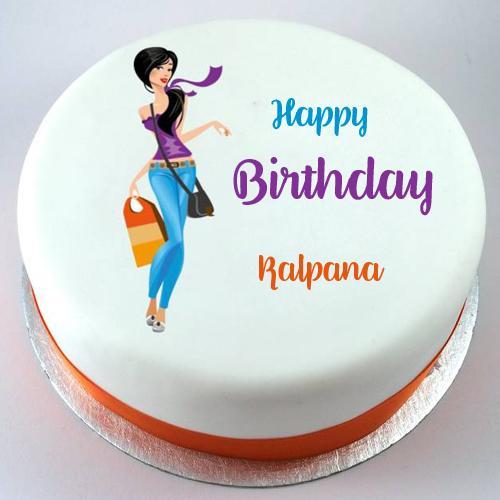 Happy Birthday Kalpana Cake Images
