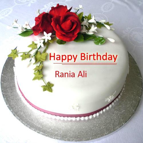 Birthday Cake Pics With Name Ali : HaPPy Birthday To our VUHELP member ++Rania Ali++ - VU HELP