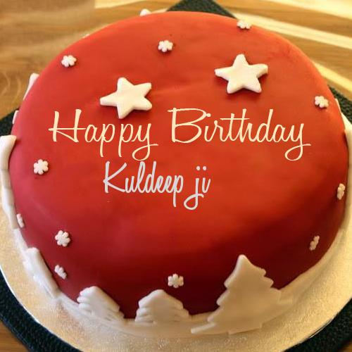 Write Your Name On Star Birthday Cake Online Free