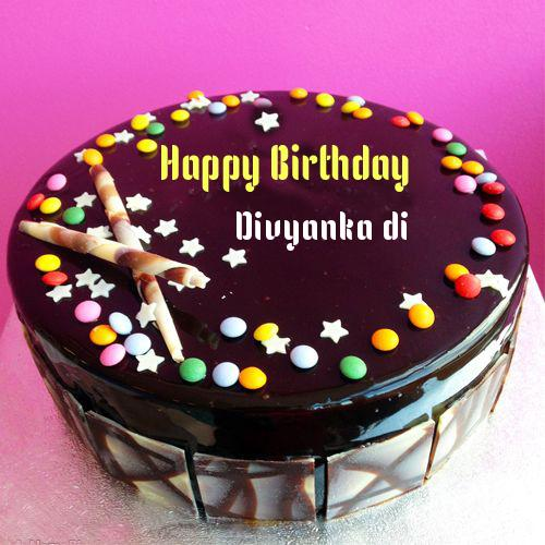 Birthday Cake Photo Download With Name : Write Name On Gems Chocolate Happy Birthday Cake Online