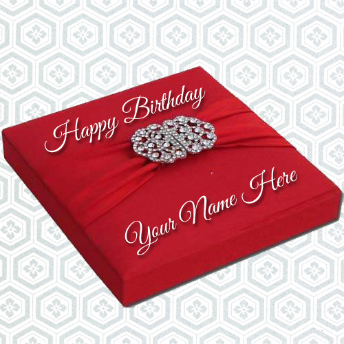 Write Name On Birthday EGift Greeting Card