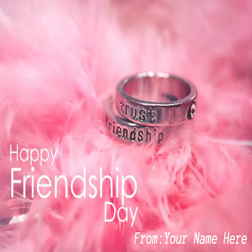 Write Name On Friendship Day 2015 Whatsapp Greetings