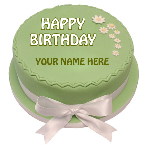Create Name Birthday Cake For Whatsapp Profile Picture