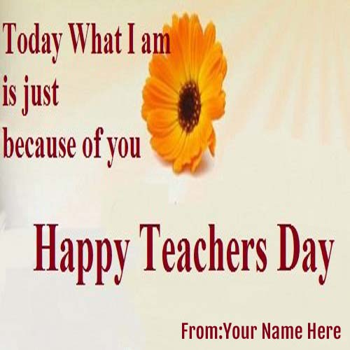 Happy Teachers Day Wishes Pictures With Quote