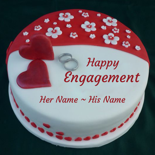 Ring Ceremony Cake Designs