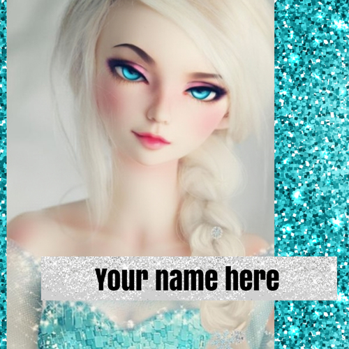 Beautiful Doll Whatsapp Profile Picture With Your Name