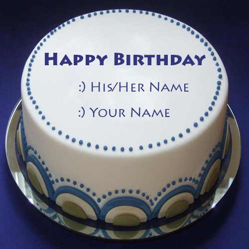 Related Birthday Cakes Name Pictures