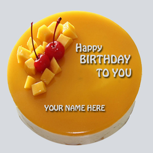Create Birthday Cakes With Name