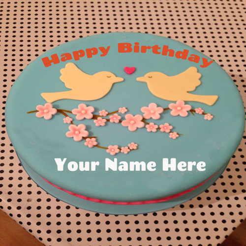 Write Your Name On Bunties Birthday Cake Online
