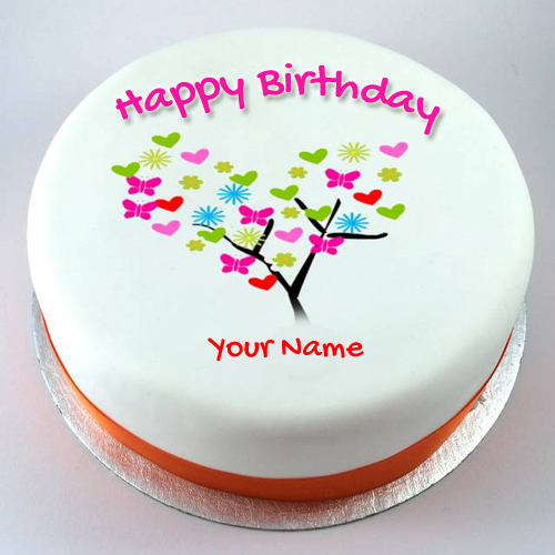 Birthday Cake Images With Name Vijay : Happy birthday cake with name creator
