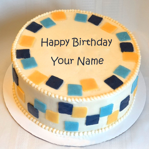 Make Birthday More Special By Writing Name On Cake
