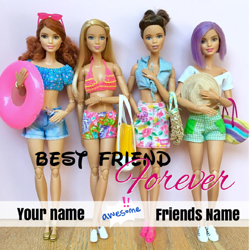 Write Your Name On Friendship Pictures Online