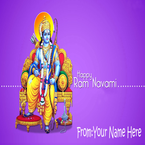 Write Your Name On Happy Ramnavami Latest Pictures Onli
