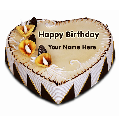 Images Of Cake With Name Honey : Write Name on Fig and Honey Birthday Cake Online