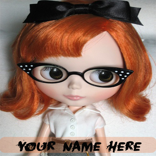 Write Your Name On Cute Stylish Dolls Pics