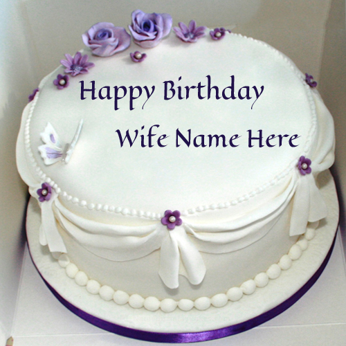 Birthday Cake Images To Write Name : Write Your Name on brithday cakes online pictures editing