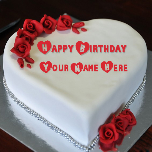 Write Name on Birthday Cake For Your Girlfriend