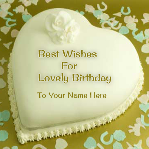 Birthday cake with name generator online
