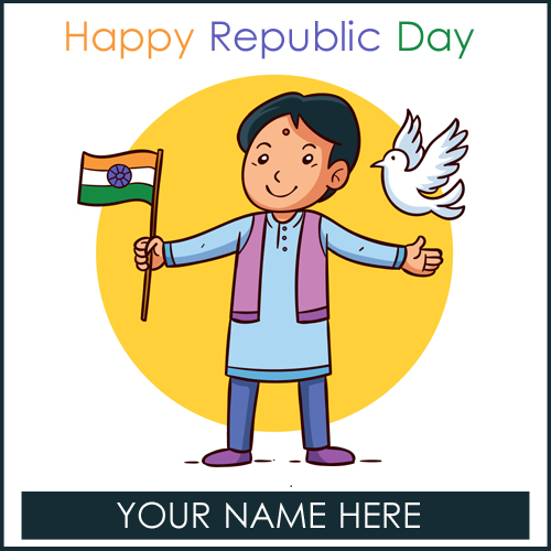 Indian Republic Day 2019 Whatsapp Status With Your Name