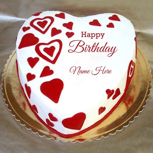 Birthday Cake Designs For Girlfriend : Write Your Name on brithday cakes online pictures editing