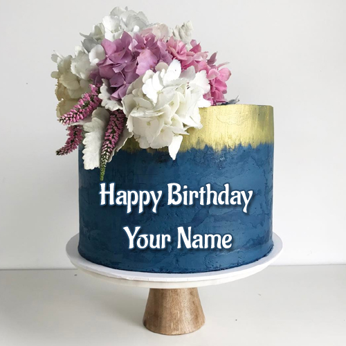 Happy Birthday Wishes Royal Designer Cake With Name