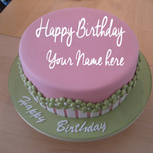 WRITE NAME ON Write Your Name On Fondant Birthday Cake Pictures Free ...