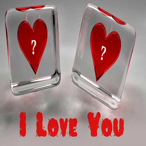 Love Wallpaper Write Name : Write Alphabet On I Love You Ice Hearts Pic Online