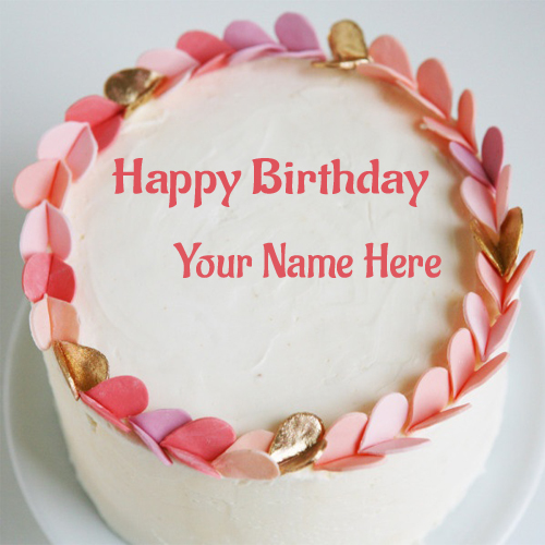 Cake Images And Names : Write Your Name On Birthday Cake Wishes Pictures