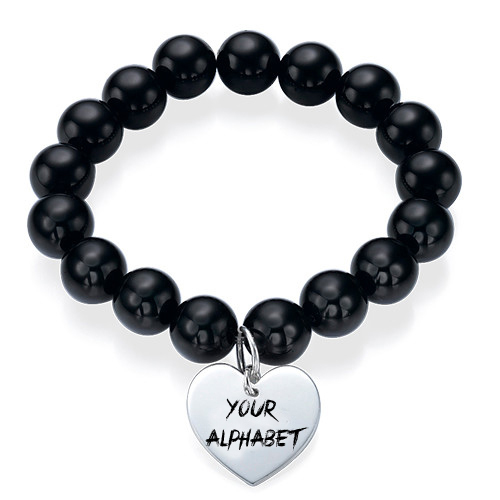 Write Your Name Alphabet On bead bracelet