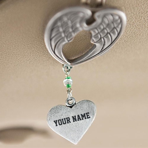 Write Name on Angel Visor Clip Jewelry Profile Pics