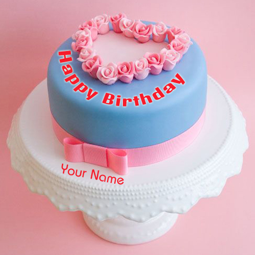 Birthday Cake Images With Name Tarun : Write Name on Luxury Birthday Cakes Pics
