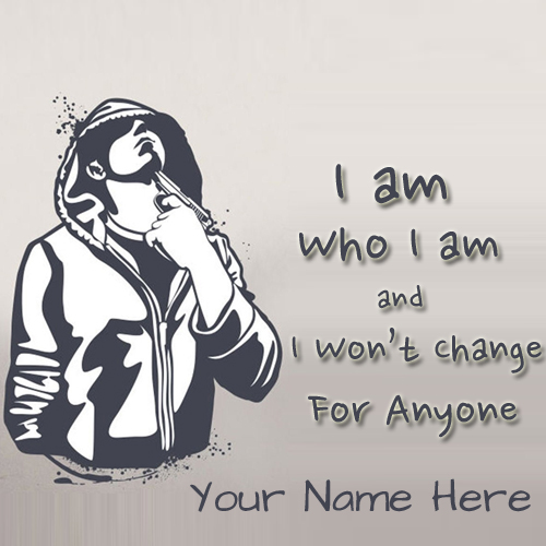 Stylish Attitude Boy Whatsapp DP Pics With Your Name