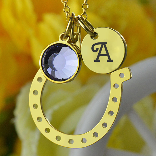 Personalize Birthstone Jewelry With Name Alphabet