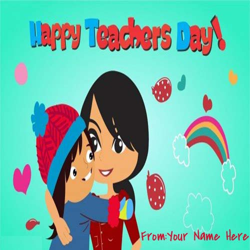 5th September Teachers Day Name Pictures
