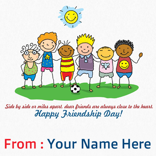 Write Your Name On Friends Forever Pictures Free