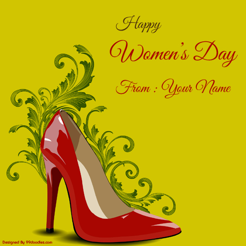 Happy Womens Day Wishes New Profile Pics With Your Name